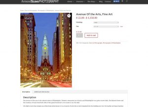 Armond Scavo Photography - Shopping Page