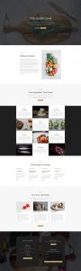 Restaurant Theme Layout
