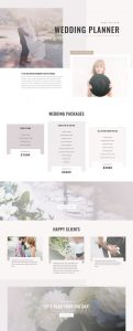 Wedding Planner Layout