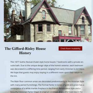 The Gifford House History