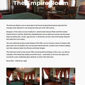 Inside Rooms Page